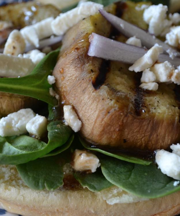 Grilled Eggplant Sandwich