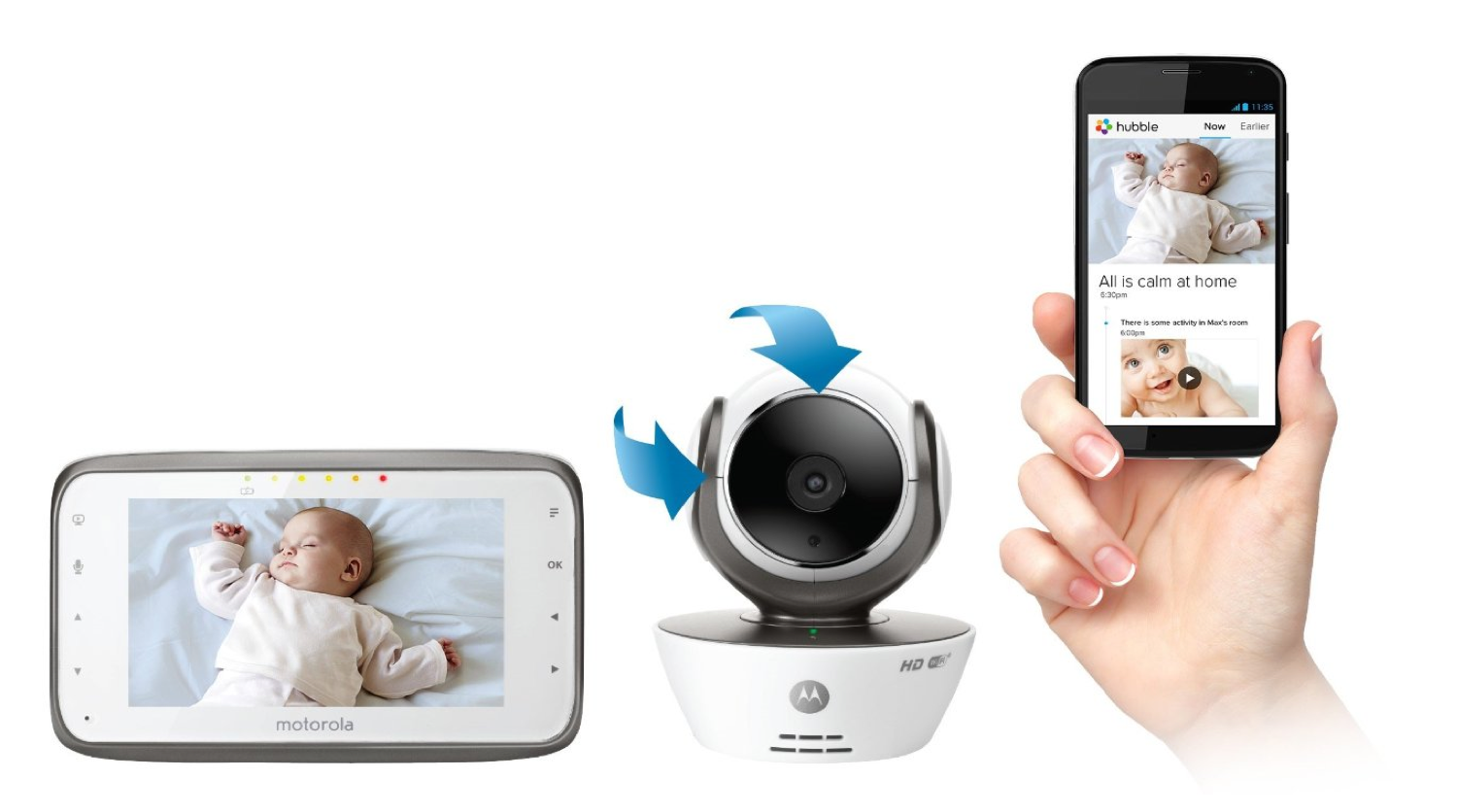 baby crib monitor baby monitor cords strangled children onsafety this tech lets you add a. Black Bedroom Furniture Sets. Home Design Ideas
