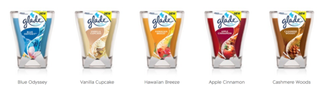 Glade Large Candles