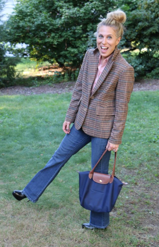 Chadwicks Boston tweed jacket for women