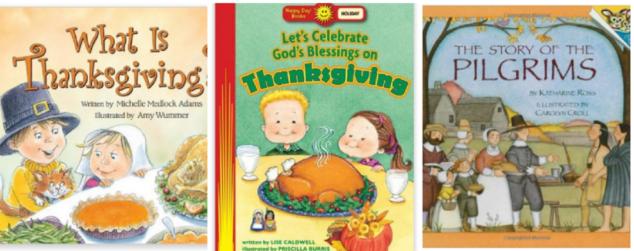 Thanksgiving Day Books