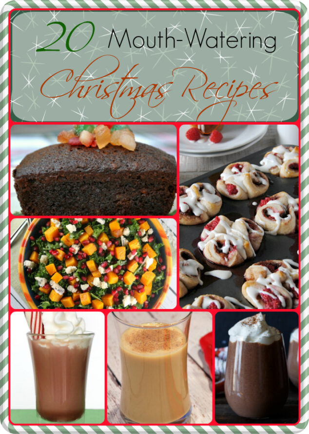 20 Mouth-Watering Christmas Recipes