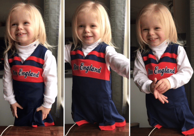 Patriots Cheerleader Outfit