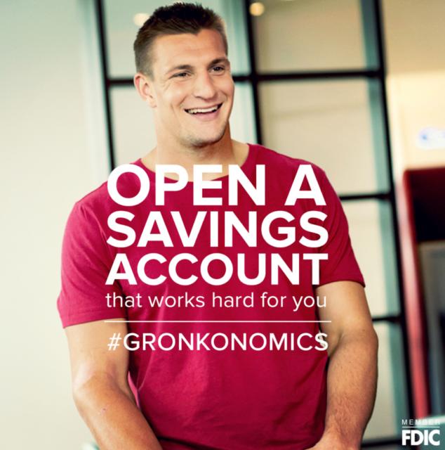 Gronkowski Signed Football