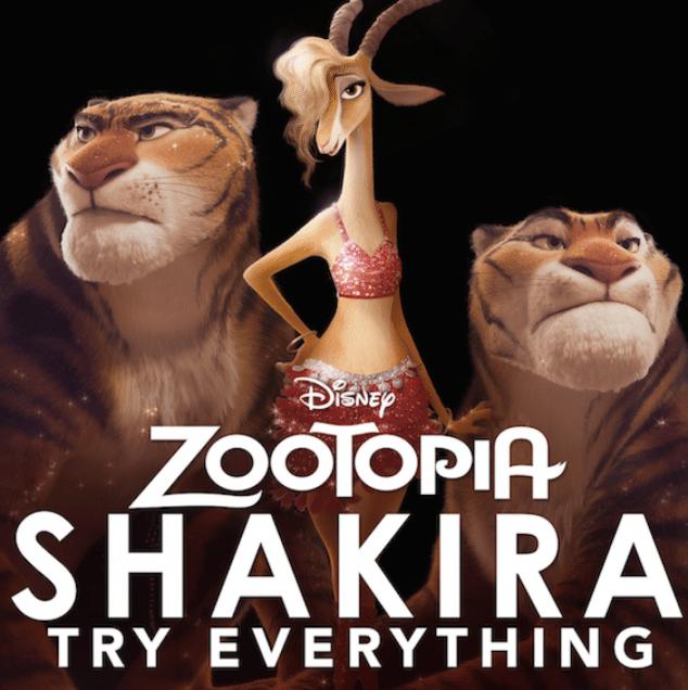Shakira Try Everything