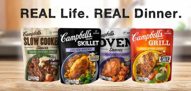 Campbell's Oven Sauces