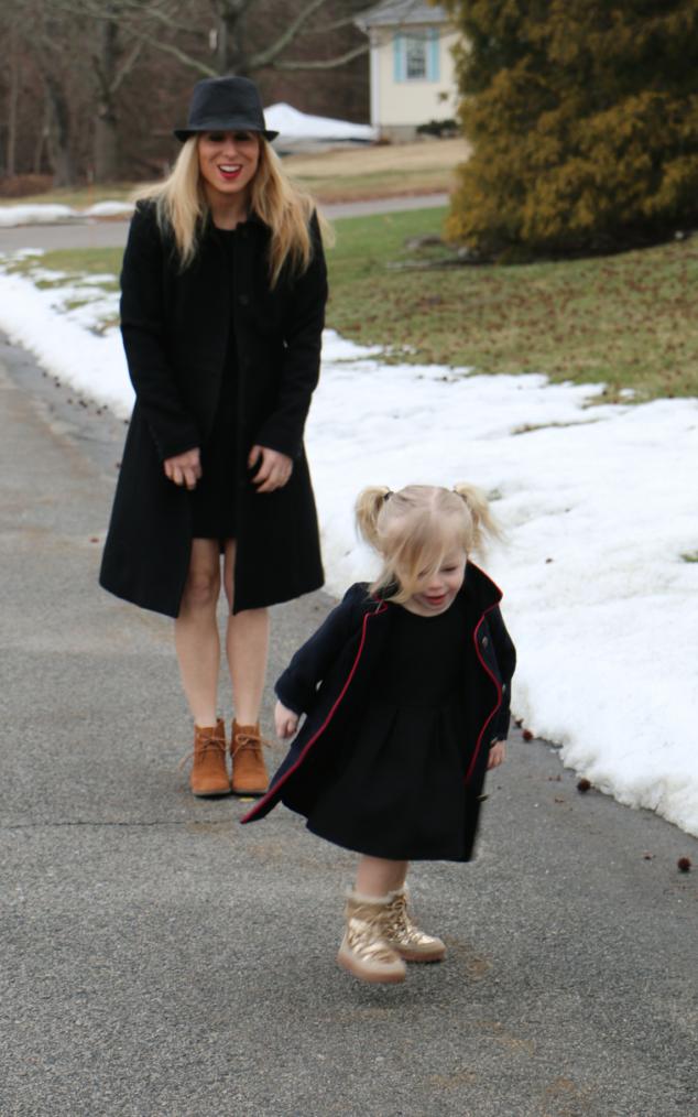 Little Girls Black Dress