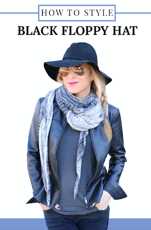 573e72f3d5822 Black Floppy Hat - How to Style - Mom Generations | Audrey ...