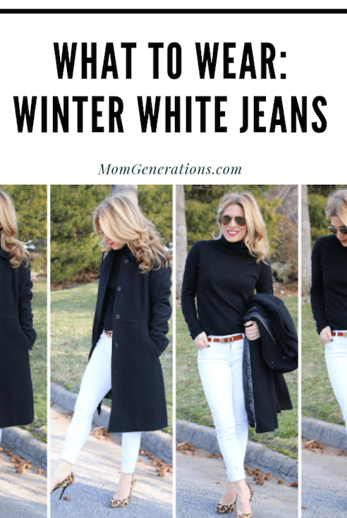 Winter White Jeans