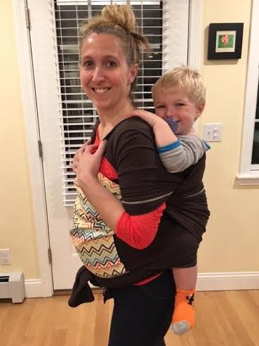 Snuggy Baby Hybrid Stretch Wrap
