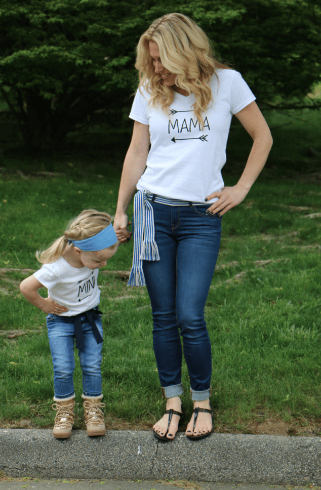 matching mommy and me shirts