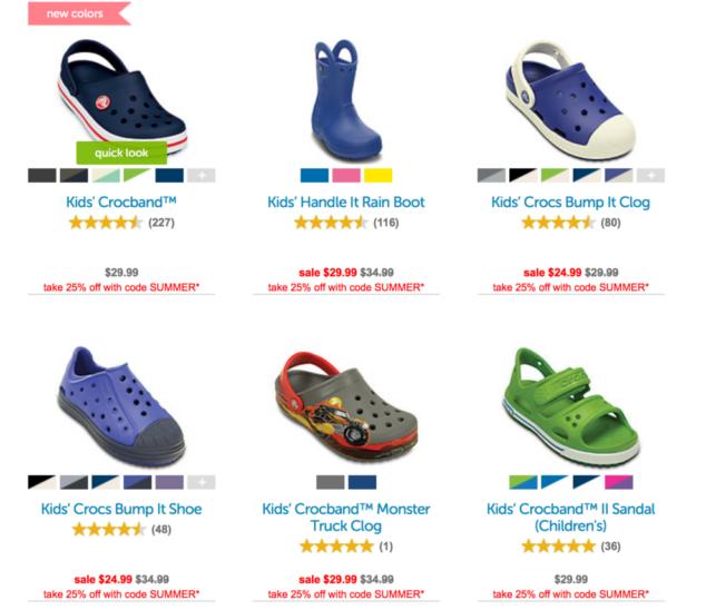 Crocs Deal
