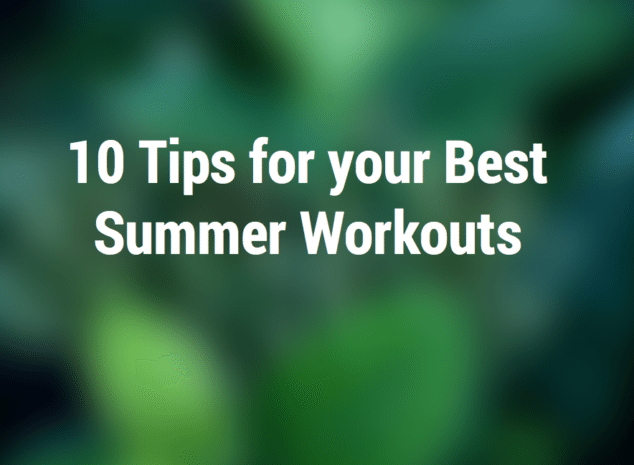 summer workout for moms