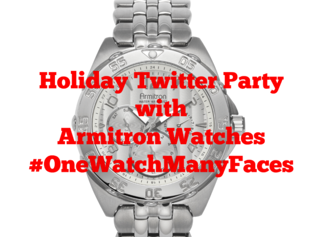 Holiday Twitter Party with Armitron Watches