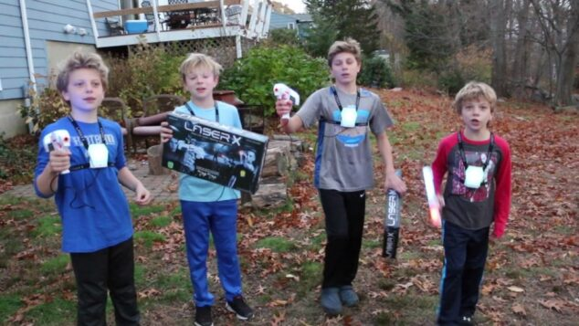 Toy Review: Laser Tag at home with Laser X (a.k.a. – A dream come true for my sons!)