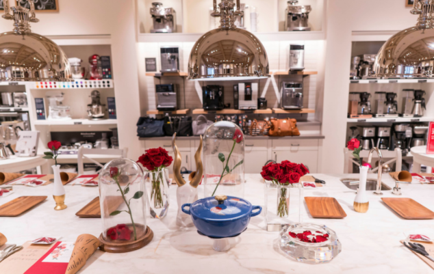 Beauty And The Beast Celebration At Williams Sonoma