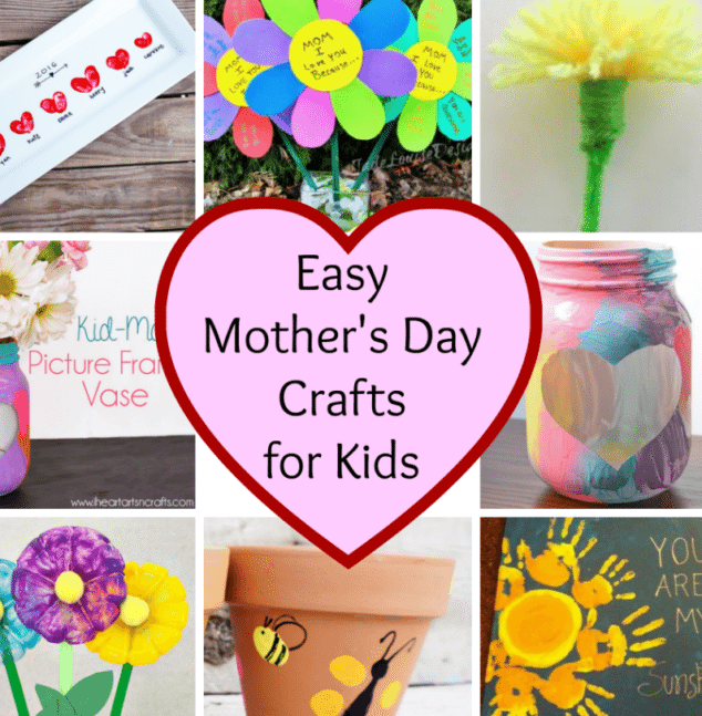 Easy Mother's Day Crafts - Stylish Life for Moms