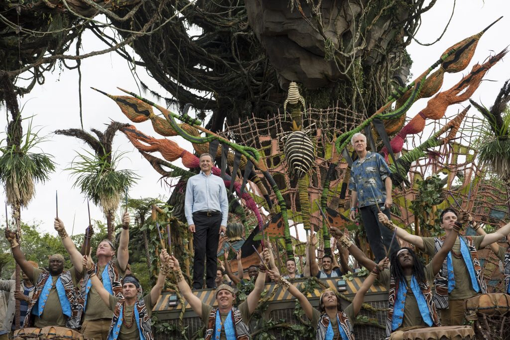 Bob Iger and James Cameron were there for our sneak peek at
