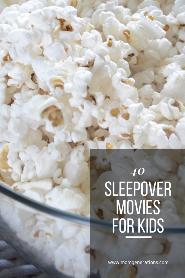 Movies to Watch at a Sleepover