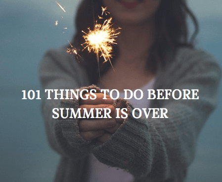 Things To Do Over the Summer