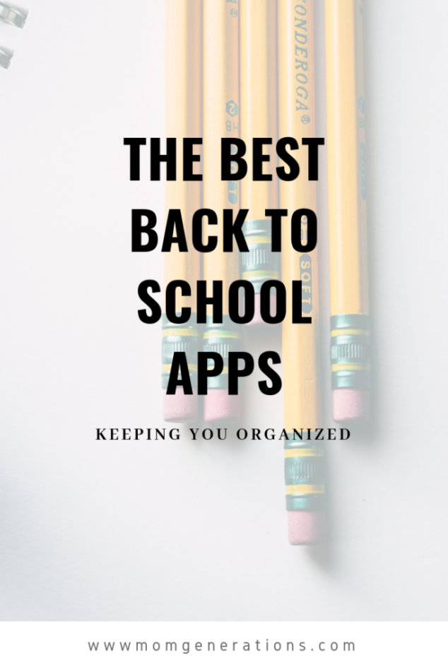 Best Apps for Back to School