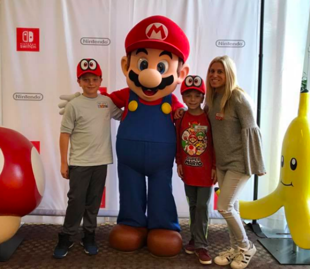 Hanging with Mario at Nintendo Headquarters. NBD...