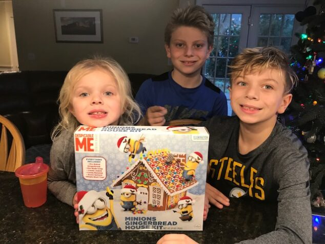 This Despicable Me 3 gingerbread house is too cute!