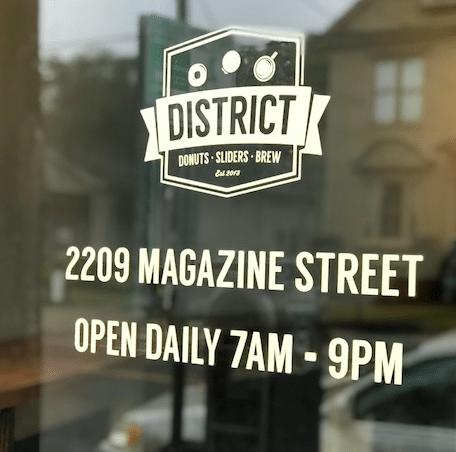 District Donuts Shop