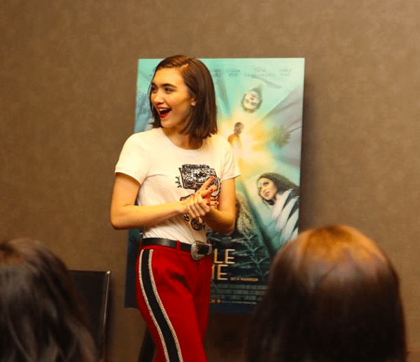 Rowan Blanchard as Veronica Kiley in A Wrinkle in Time