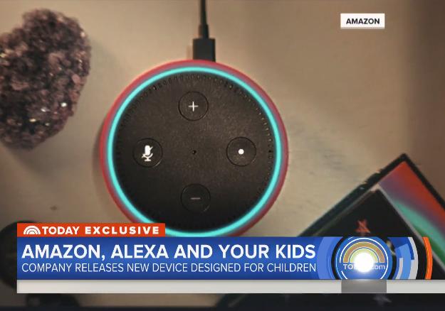 Amazon Releases Echo Dot Designed for Children