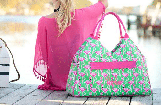 Personalized Large Beach Bag Oversized Pool Tote
