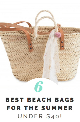 Best Beach Bags for the Summer UNDER $40