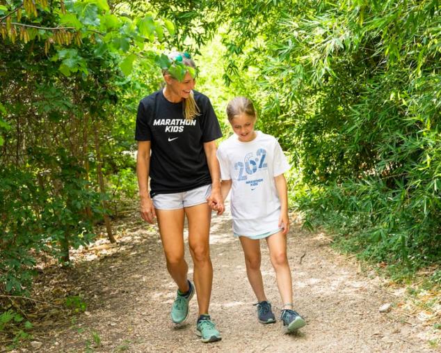 Marathon Kids Walk and Talk Challenge