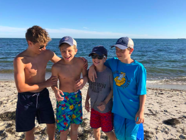 Family Beach Trip with Teenagers