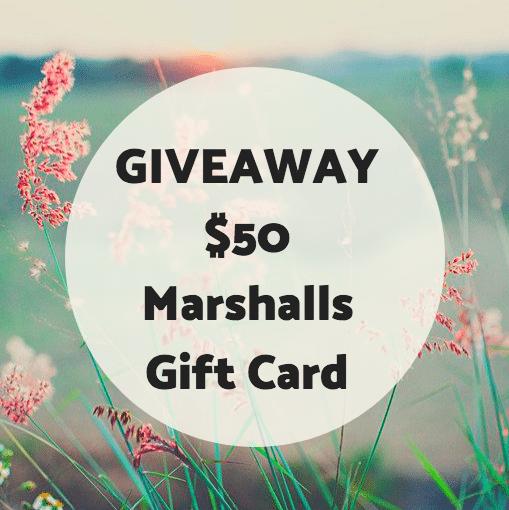 Giveaway: Marshalls $50 Gift Card
