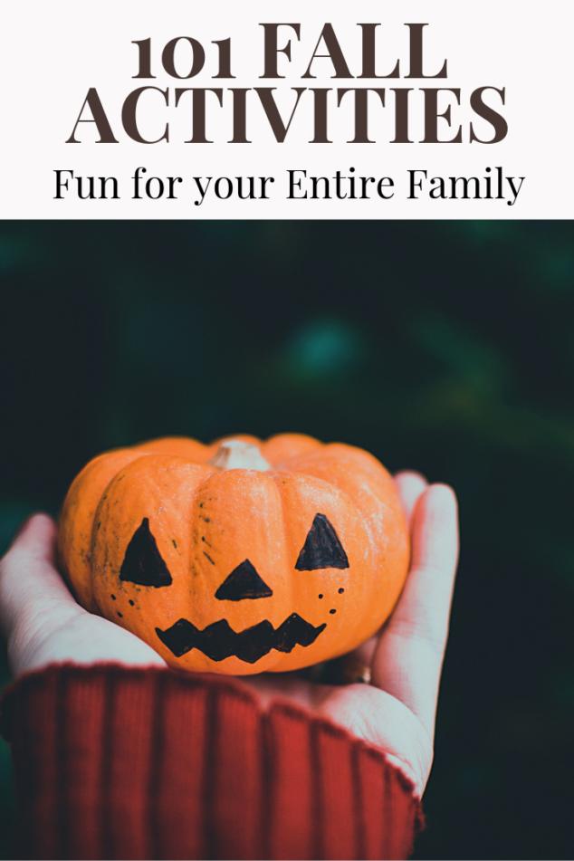 101 Fun Fall Activities