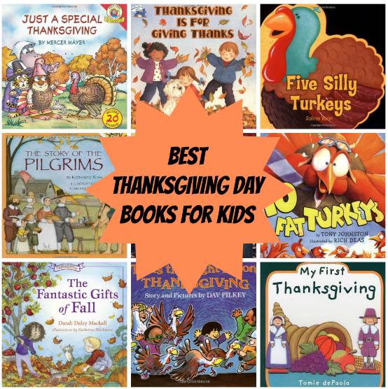 Best Thanksgiving Day Books for Kids