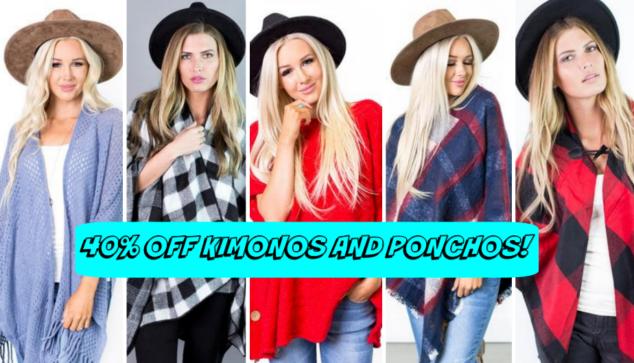 Kimonos and Ponchos