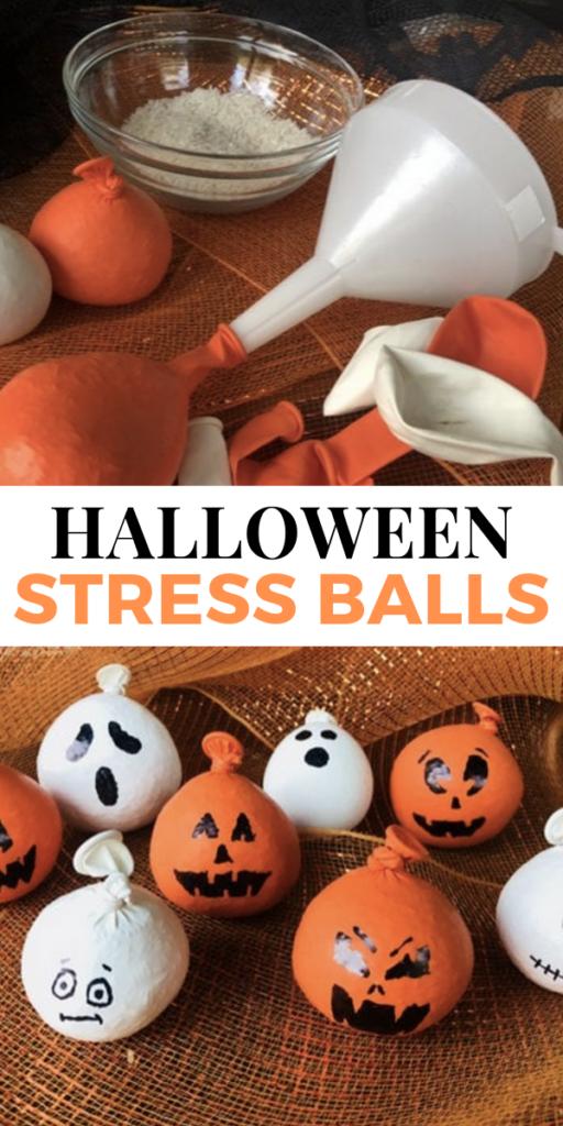 Halloween Craft - Halloween Stress Balls