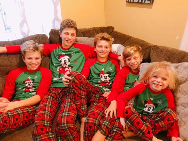 Matching Pajamas for the Holidays