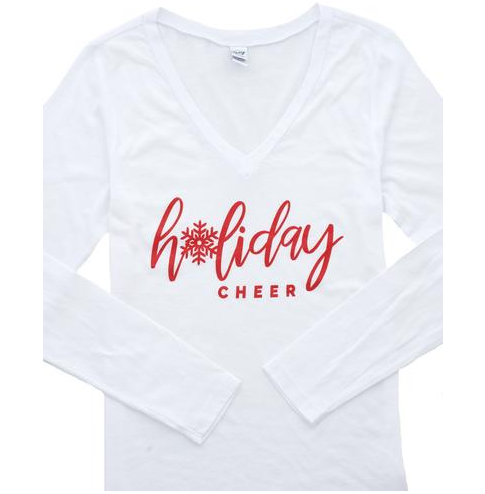 HOliday Cheer Holiday Tee