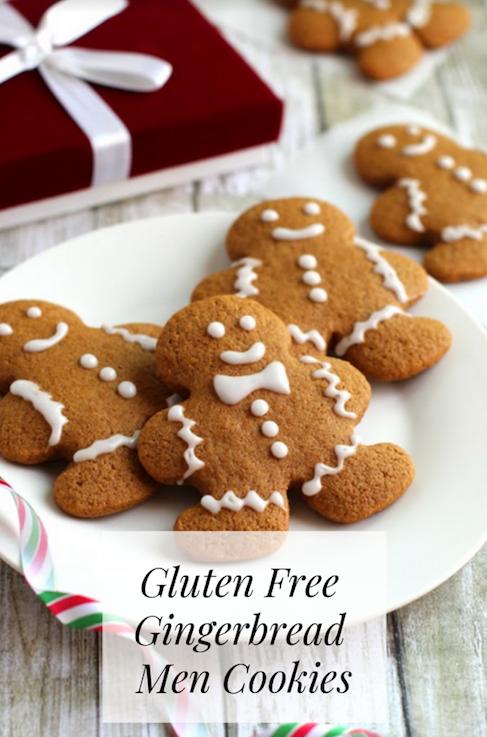 Gluten Free Gingerbread Men Cookies