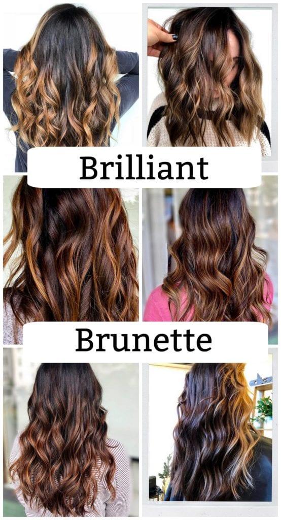 Brilliant Brunette Shades for Ladies #Brunette #Haircolor