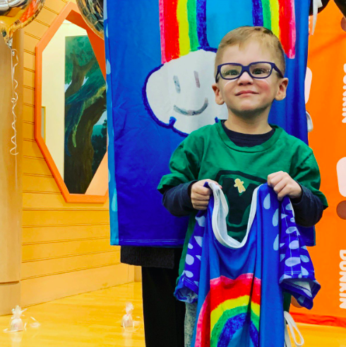 Starlight Gown Delivery to Pediatric Patients at Hasbro Children's Hospital