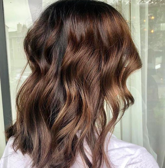 Molten #chocolatehair by Morganne 🌸 @manely.morganne