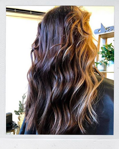 Chestnuts roasting on an.....ok, you know the rest. Gorgeous color and cut by Morganne (view her page for the before @manely.morganne ) ✨If you need to get into the holiday spirit...or if you need a pick-me-up around this time of year (we get it---it's not always holly and jolly) then STOP BY! ✨Make an appointment or just come by! Our doors are open at both locations for all and we are ready to add a little sparkle to your hair and YOU!
