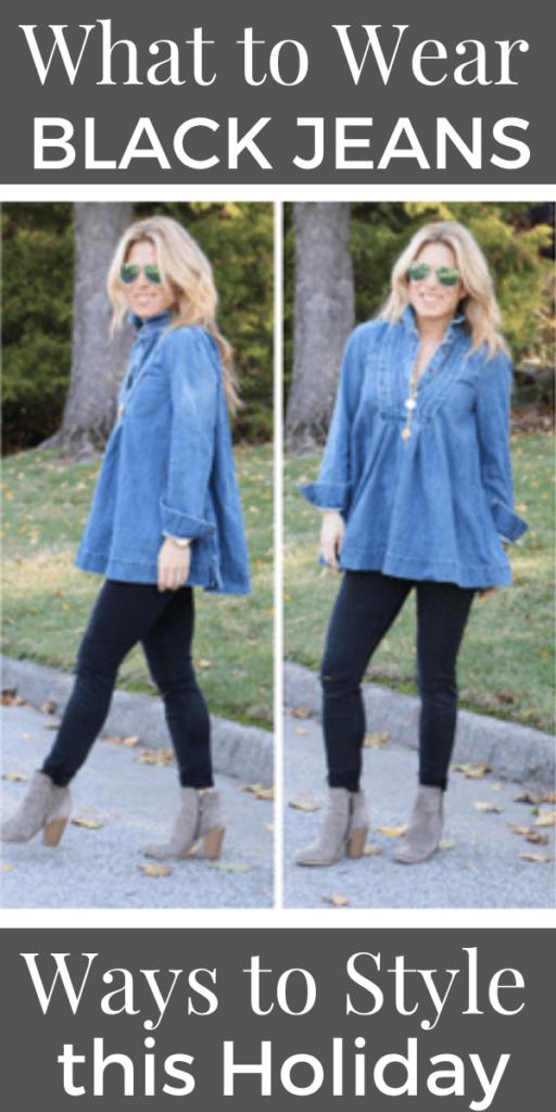 Ways to Wear Black Jeans