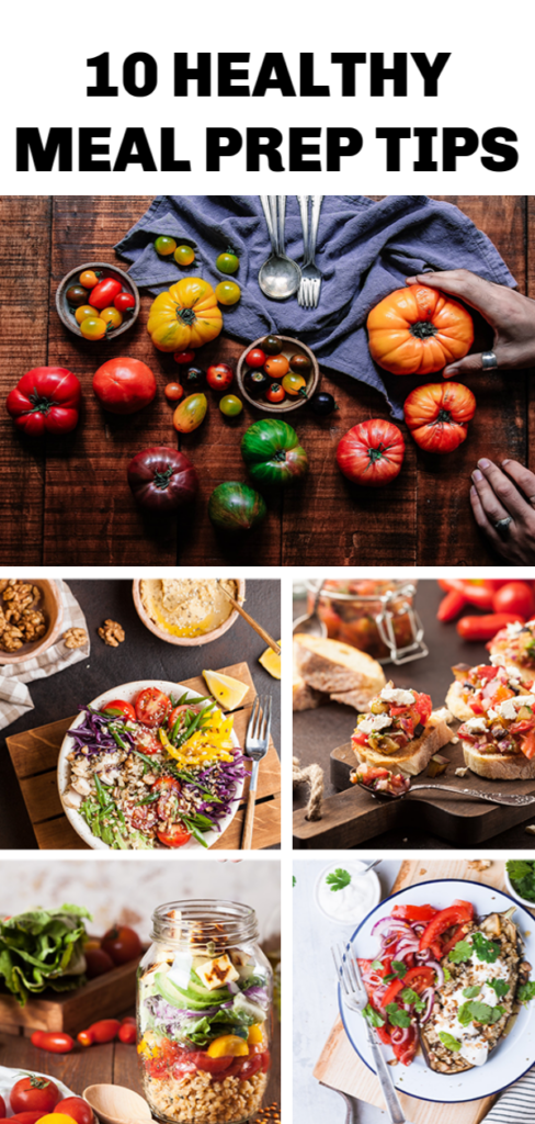 10 Healthy Meal Prep Tips for Busy Families