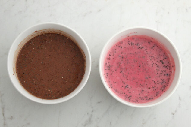 Directions for Raspberry Chocolate Chia Pudding