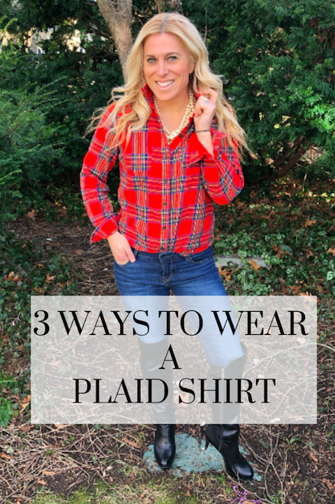 How to Wear a Plaid Shirt